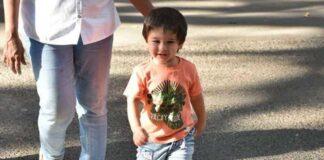 Bollywood acteur Saif Ali Khan wil zoon Taimur voorlopig niet laten acteren