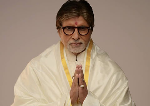 Amitabh Bachchan is vandaag 75 jaar geworden