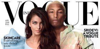 Aishwarya Rai met Pharrell Williams op cover VOGUE India