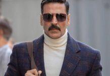 Bollywood acteur Akshay Kumar weer aan het werk