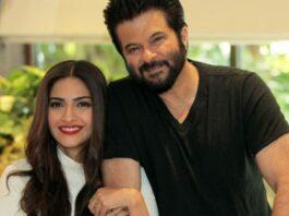 Bollywood actrice Sonam Kapoor Ahuja ziet vader als vangnet