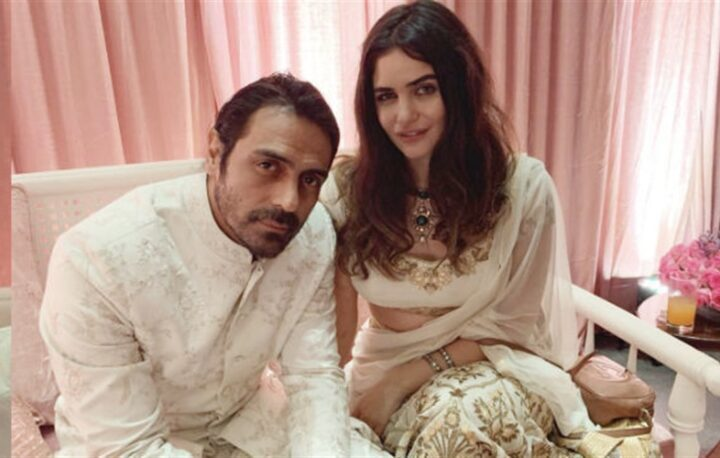 Bollywood acteur Arjun Rampal is vader geworden