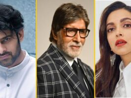 Bollywood sterren Amitabh Bachchan, Deepika Padukone en Prabhas komen samen voor film