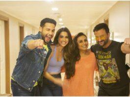 Opnames Bollywood film Bunty aur Babli 2 klaar