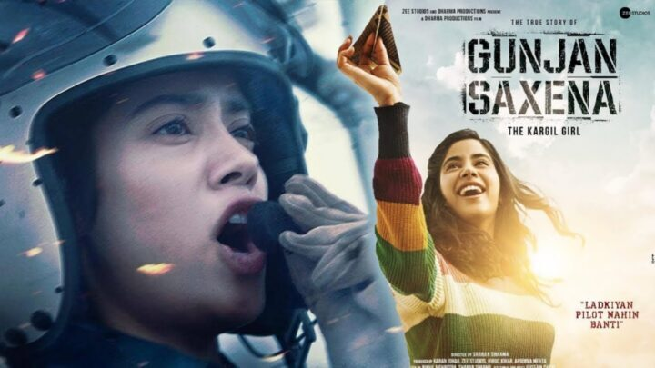 Bekijk de trailer van de Bollywood film Gunjan Saxena: The Kargil Girl
