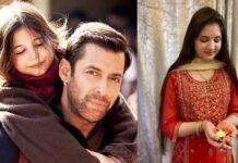 Harshaali Malhotra, de kleine Munni uit de Bollywood film Bajrangi Bhaijaan, is groot geworden