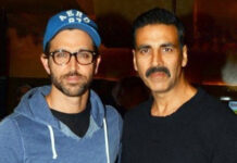 Bollywood acteurs Akshay Kumar en Hrithik Roshan samen in een film?