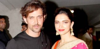 Hrithik Roshan en Deepika Padukone spelen de hoofdrol in de Bollywood film Fighter