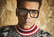 Bollywood filmmaker Karan Johar is een wrak