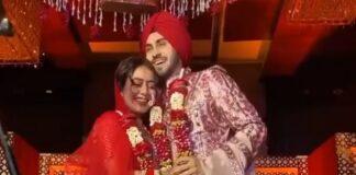 Neha Kakkar daadwerkelijk getrouwd met Rohanpreet Singh
