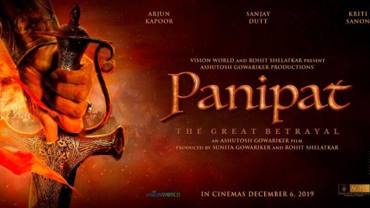 Bekijk de eerste trailer van de Bollywood film Panipat