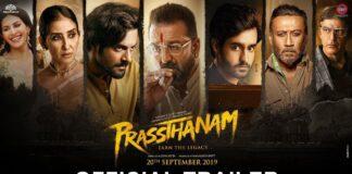 Bekijk de trailer van de Bollywood film Prassthanam
