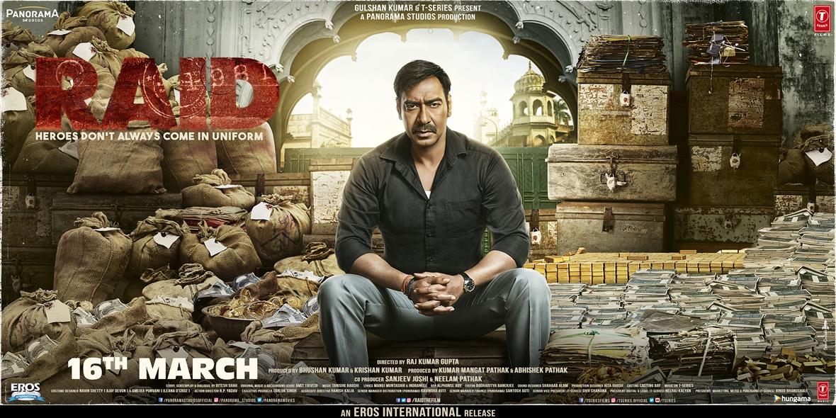 Nieuwe Bollywood actiefilm over één van de grootste belastingfraudes in India