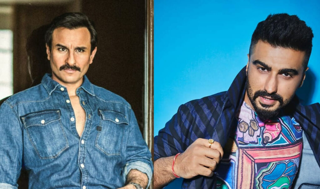 Saif Ali Khan en Arjun Kapoor samen in Bollywood film Bhoot Police