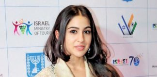 Bollywood actrice Sara Ali Khan over nepotisme