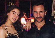 Sara Ali Khan in film met vader Saif Ali Khan?