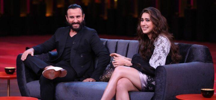 Bollywood acteur Saif Ali Khan is trots op dochter Sara Ali Khan
