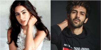 Bollywood actrice Sara Ali Khan in film met Karthik Aaryan?