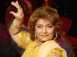 Bollywood choreografe Saroj Khan overleden