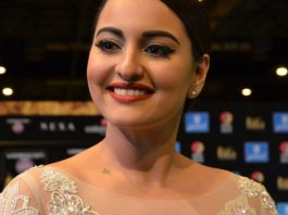 Bollywood actrice Sonakshi Sinha in Housefull 4