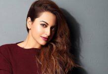 Bollywood actrice Sonakshi Sinha geniet van lockdown