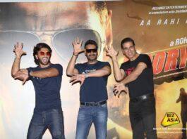 Akshay, Ajay & Ranveer bevestigen bioscooprelease Bollywood film Sooryavanshi