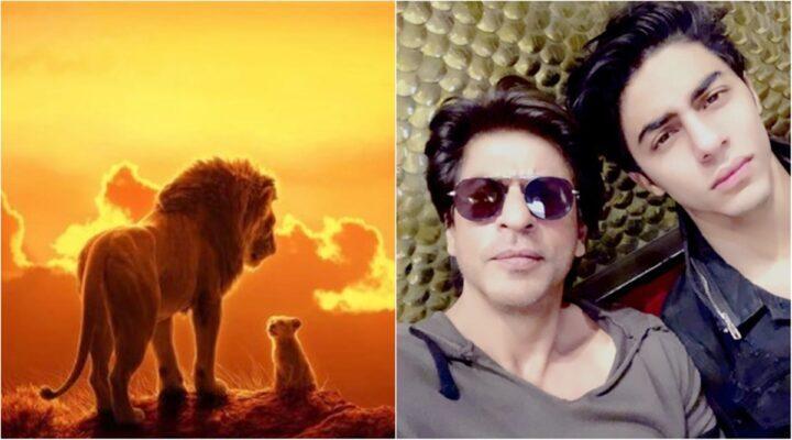 Bollywood acteur Shah Rukh Khan en zoon Aryan Khan komen samen voor een film