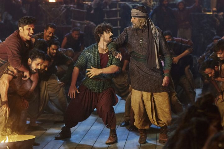 Twee Bollywood supersterren dansen samen in Thugs of Hindostan