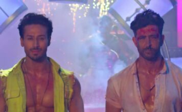 Bekijk de danceoff tussen Bollywood acteurs Hrithik Roshan en Tiger Shroff