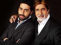 Amitabh en Abhishek Bachchan