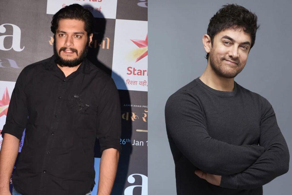 Zoon Bollywood acteur Aamir Khan klaar voor debuut
