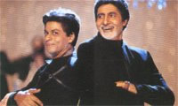 Bollywood - Strijd tussen Big B en SRK