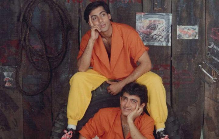 Salman Khan en Aamir Khan in vervolg Bollywood film Andaz Apna Apna