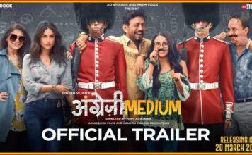 Bekijk de trailer van de Bollywood film Angrezi Medium