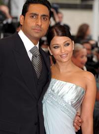 Bollywood koppel Bachchan op vakantie