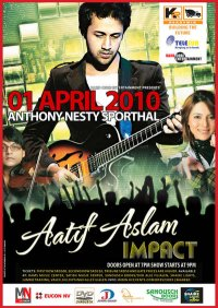 Bollywood zanger Atif Aslam in Suriname