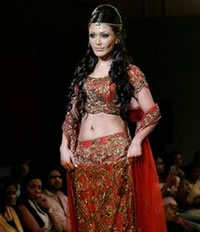 Bollywood sterren op Bangalore Fashion Week