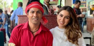 Bekijk de video Husnn Hai Suhaana van de Bollywood film Coolie No.1