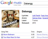 Legaal Bollywood muziek downloaden via Google