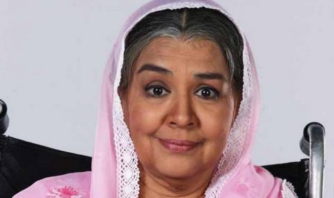 Bollywood Actrice Farida Jalal Nog Springlevend Bollywood