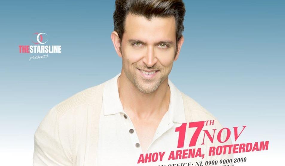 Regen van klachten na Bollywood show met Hritik Roshan in Ahoy