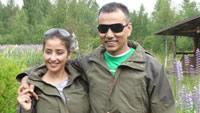 Bollywood honeymoon in Finse bossen