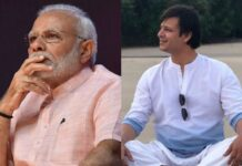 Bollywood acteur Vivek Oberoi speelt Narendra Modi in biopic