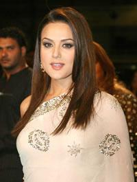 Bollywood ster Preity Zinta wint best actress award