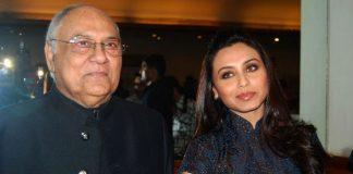 Rani Mukerji's vader Ram Mukerji overleden