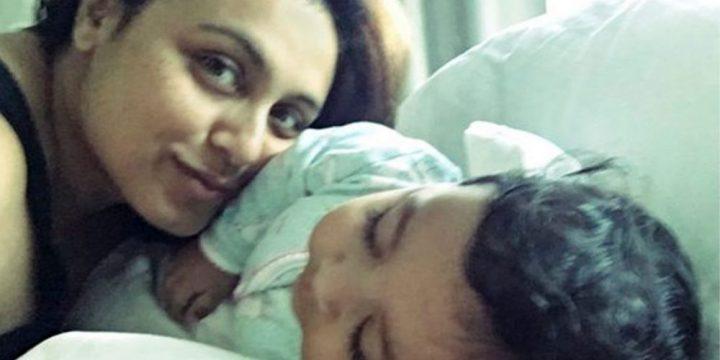 Bollywood actrice Rani Mukherjee wil dochter uit de spotlights houden
