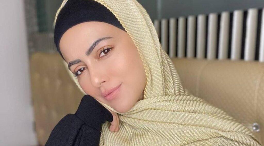 Bollywood actrice Sana Khan zet punt achter acteercarrière