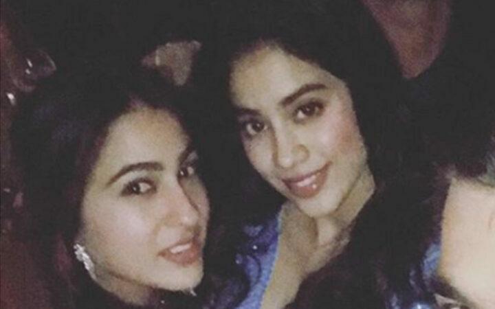 Bollywood actrice Sara Ali Khan vindt vergelijking met Jhanvi Kapoor logisch