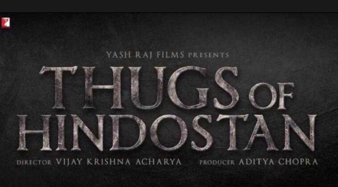 Eerste trailer Thugs of Hindostan verschijnt later deze maand