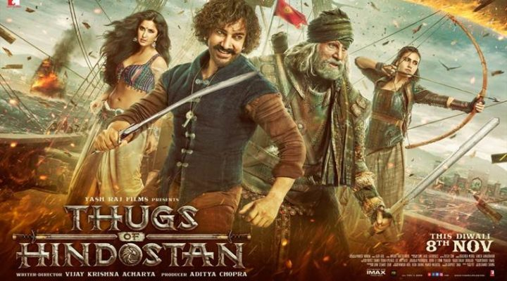 Bekijk de trailer van Bollywood film Thugs of Hindostan